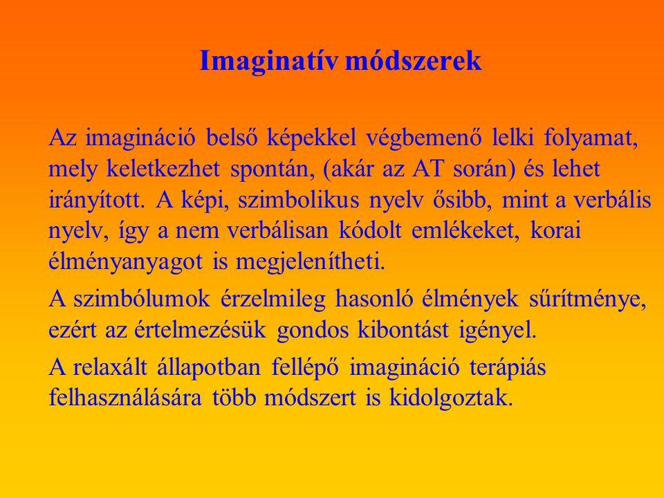 Imaginatív módszerek.