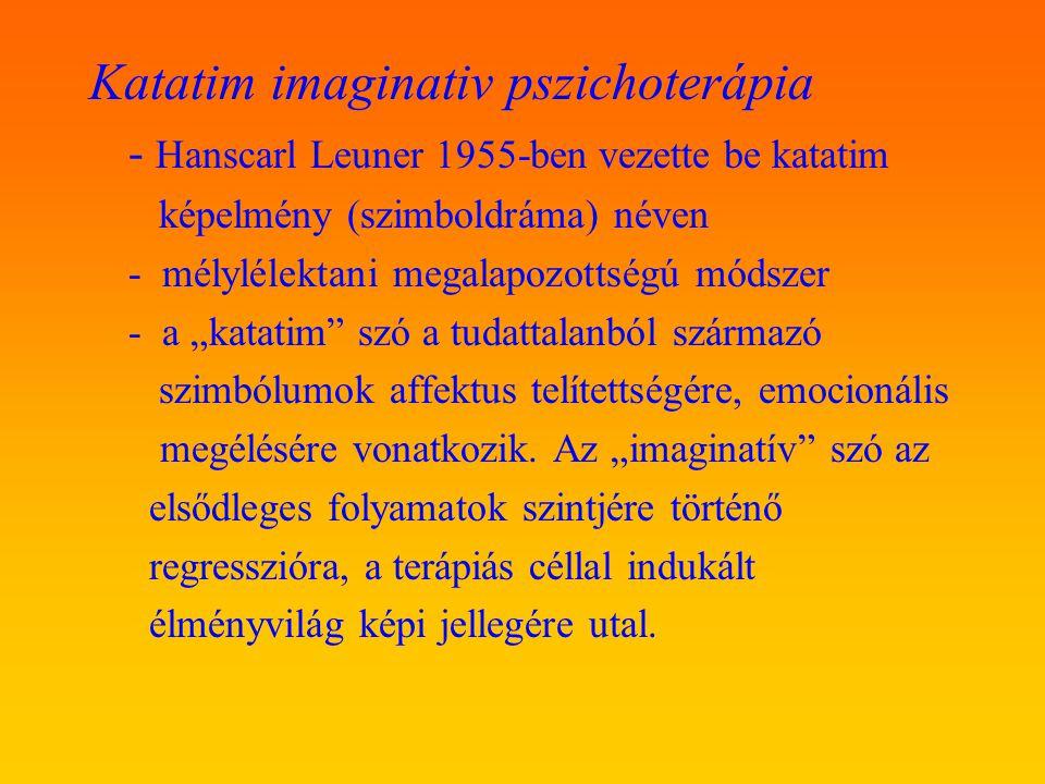 Katatim imaginativ pszichoterápia