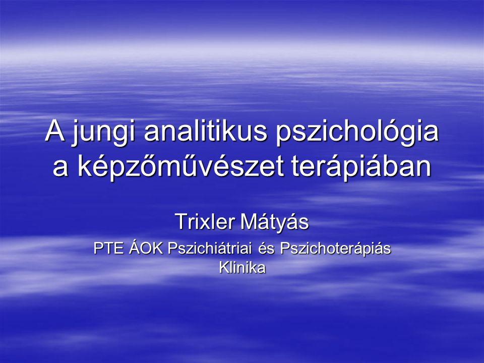A jungi analitikus pszichológia a képzőművészet terápiában