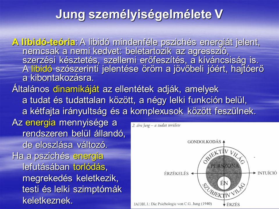 Jung személyiségelmélete V
