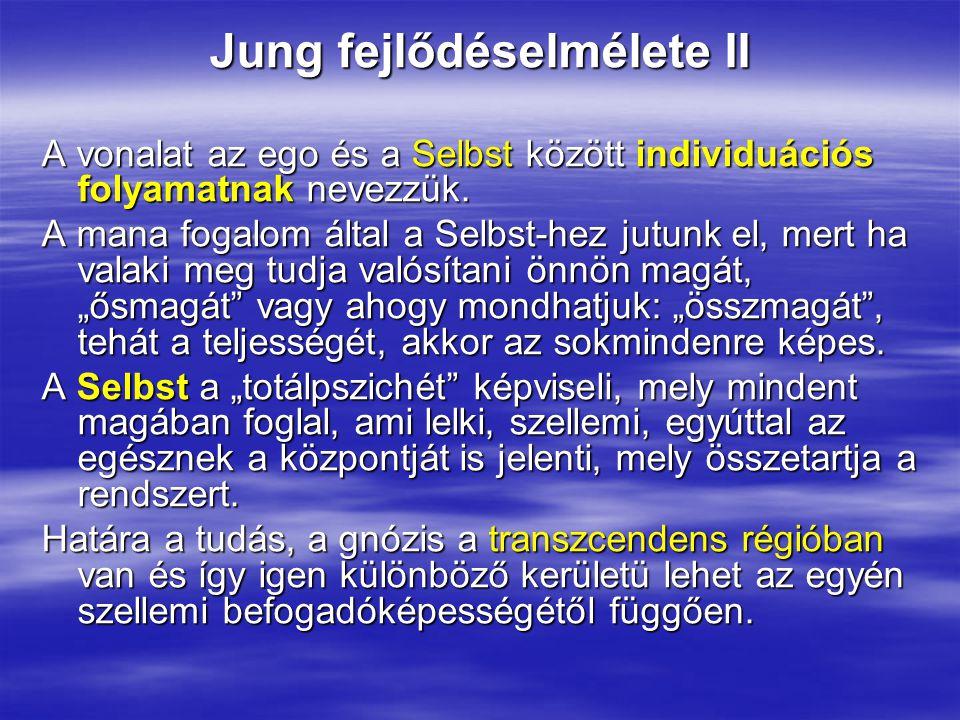 Jung fejlődéselmélete II