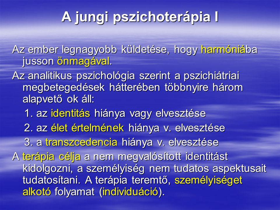 A jungi pszichoterápia I