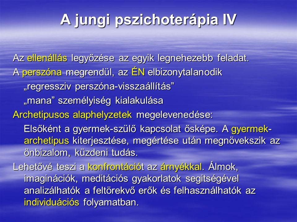 A jungi pszichoterápia IV