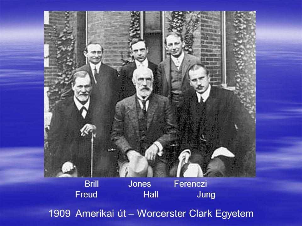 1909 Amerikai út – Worcerster Clark Egyetem