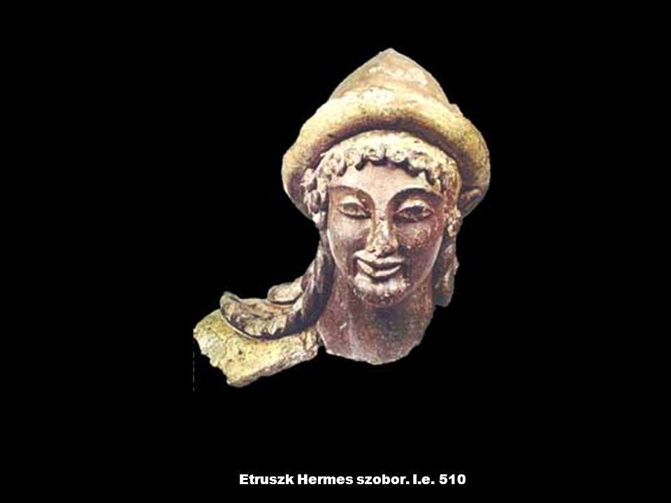 Etruszk Hermes szobor. I.e. 510