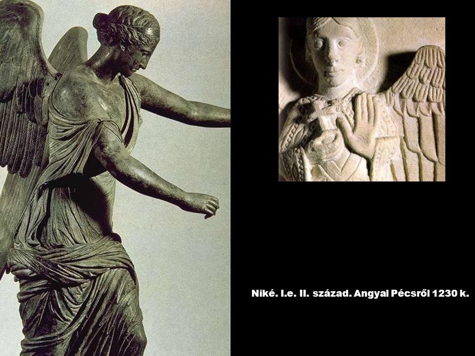 Niké. I.e. II. század. Angyal Pécsről 1230 k.