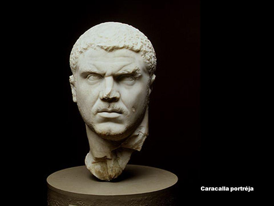 Caracalla portréja