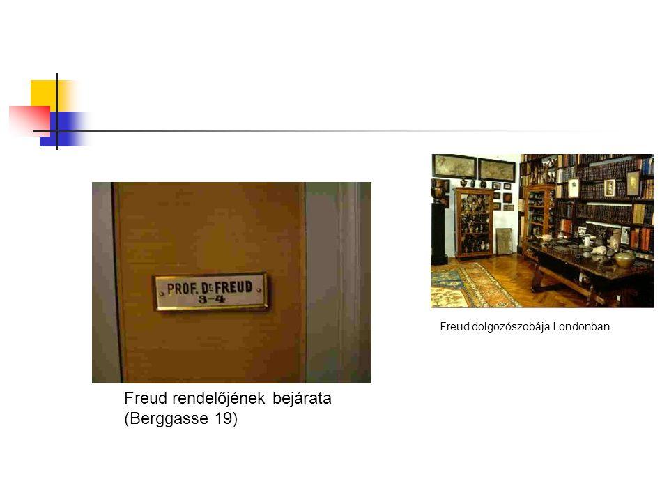 Freud rendelőjének bejárata (Berggasse 19)