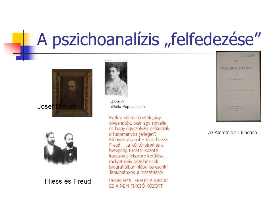 """A pszichoanalízis """"felfedezése"""