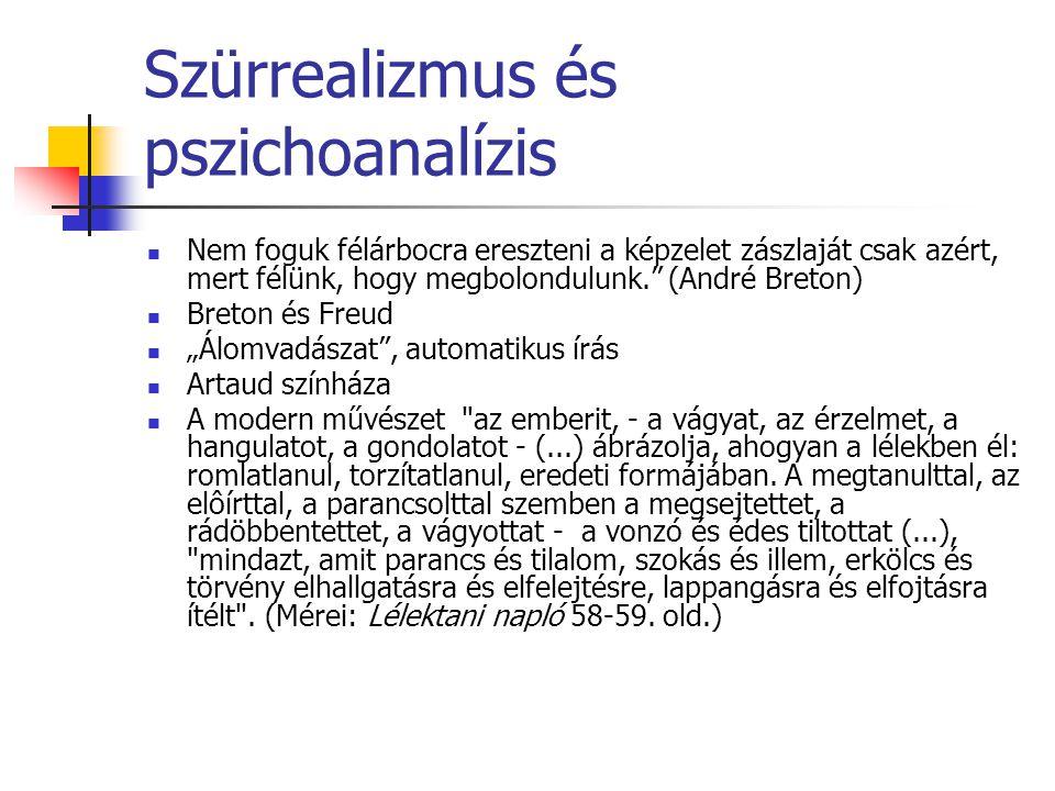 Szürrealizmus és pszichoanalízis