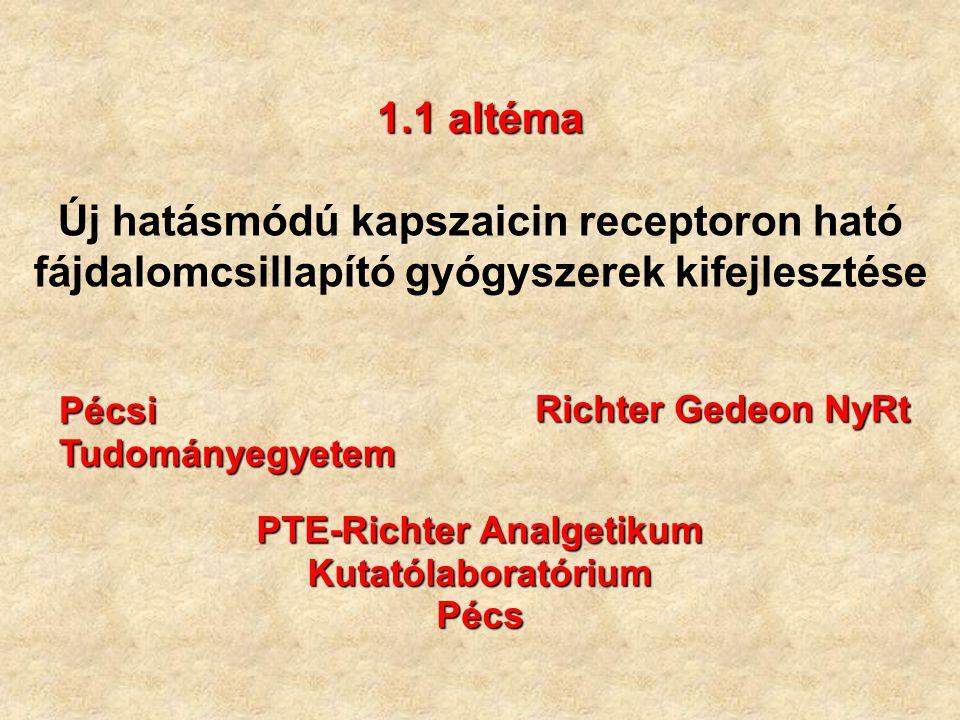 PTE-Richter Analgetikum Kutatólaboratórium