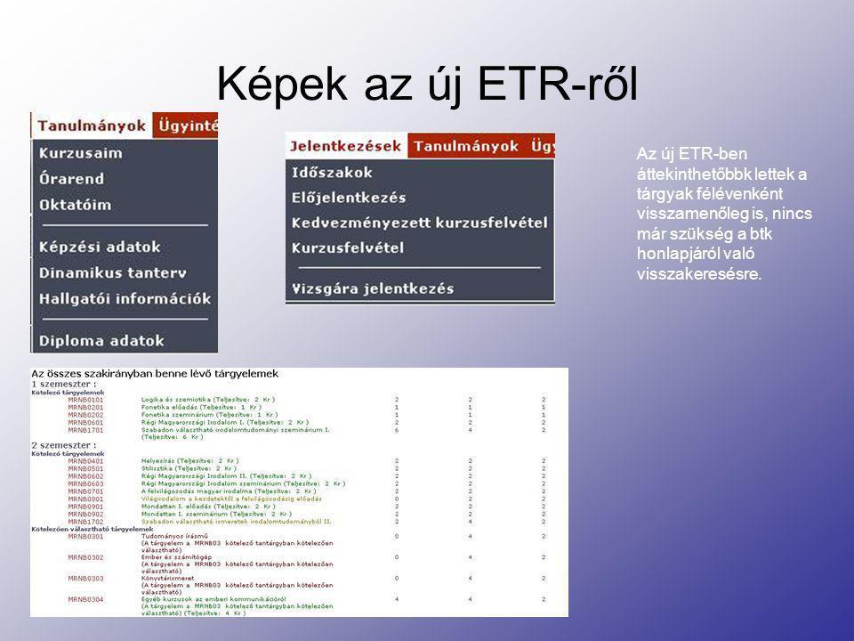 Képek az új ETR-ről