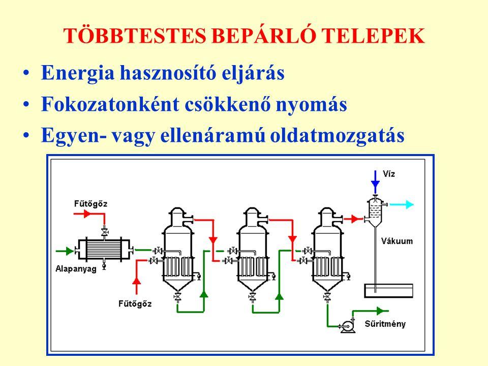 TÖBBTESTES BEPÁRLÓ TELEPEK
