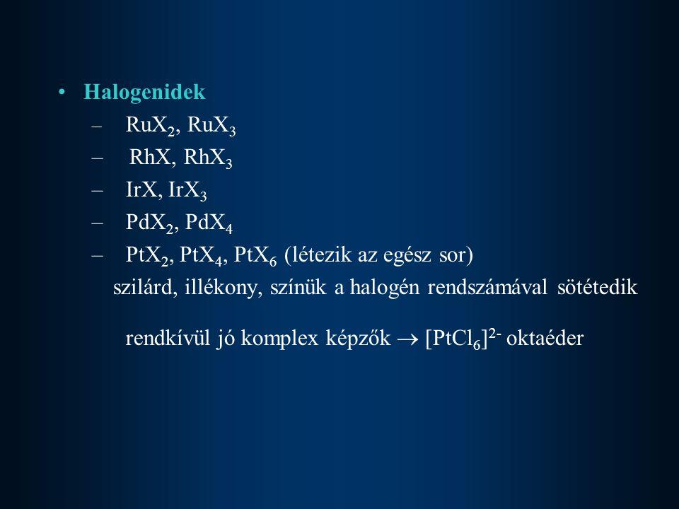 PtX2, PtX4, PtX6 (létezik az egész sor)