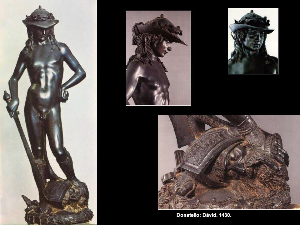 Donatello: Dávid. 1430.