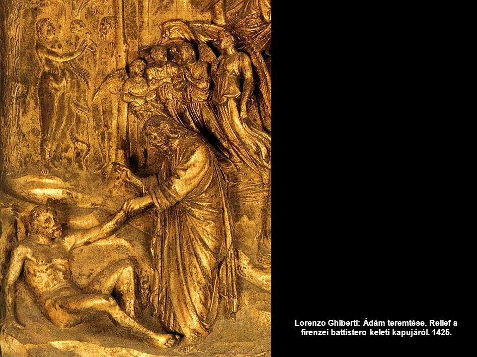 Lorenzo Ghiberti: Ádám teremtése