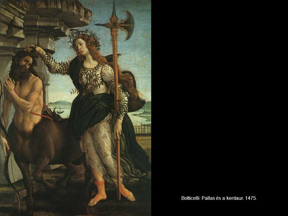 Botticelli: Pallas és a kentaur