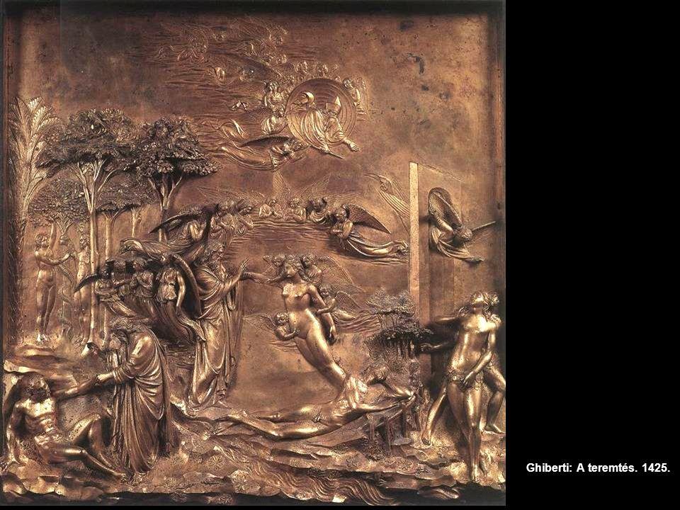 Ghiberti: A teremtés. 1425.