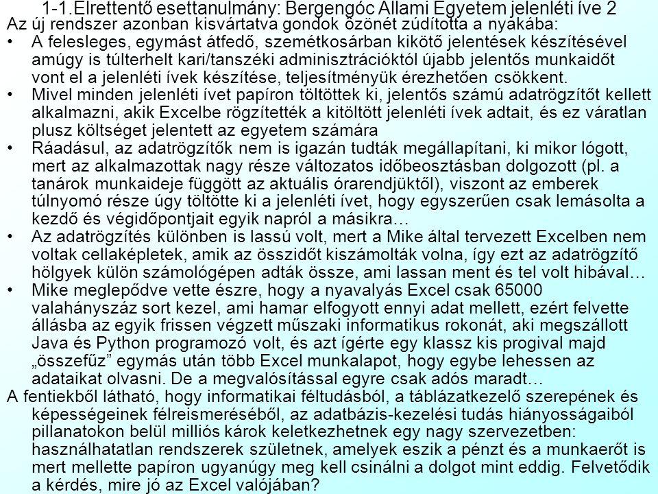 1-1.Elrettentő esettanulmány: Bergengóc Állami Egyetem jelenléti íve 2