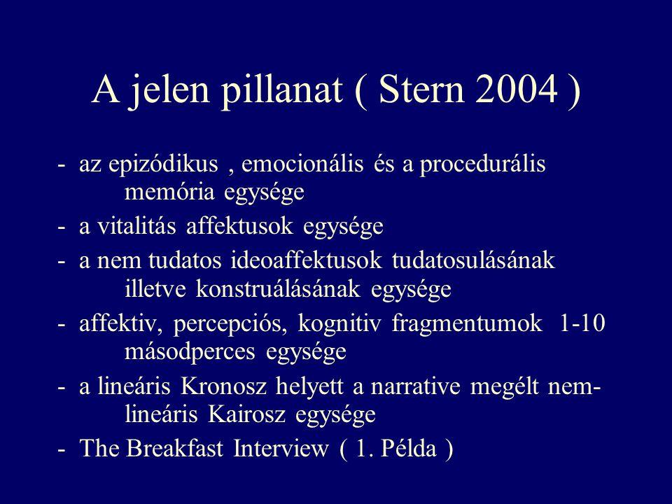 A jelen pillanat ( Stern 2004 )