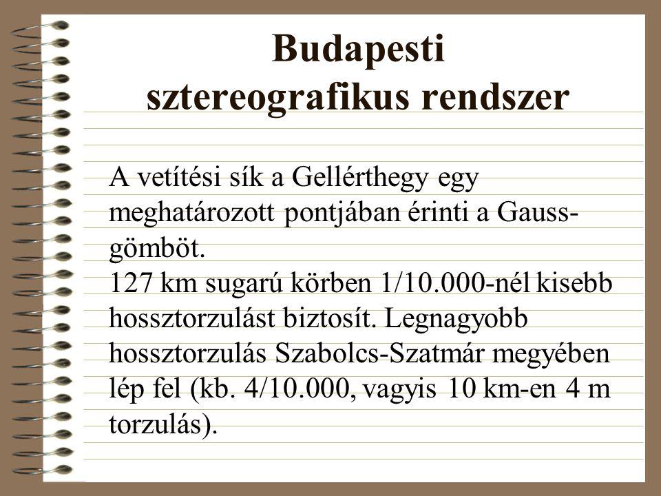 Budapesti sztereografikus rendszer