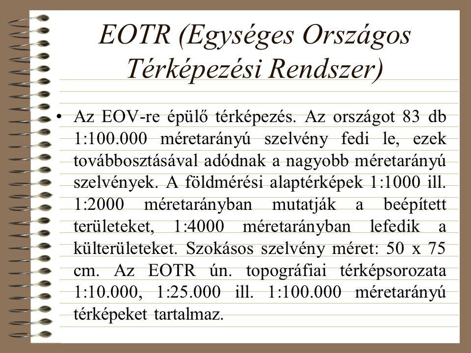 EOTR (Egységes Országos Térképezési Rendszer)