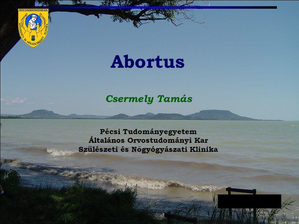 Abortus Csermely Tamás