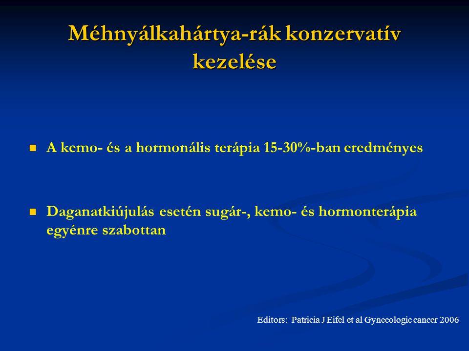 Méhnyálkahártya-rák konzervatív kezelése