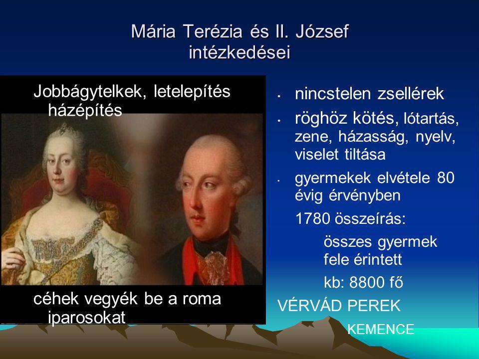 Mária Terézia és II. József intézkedései