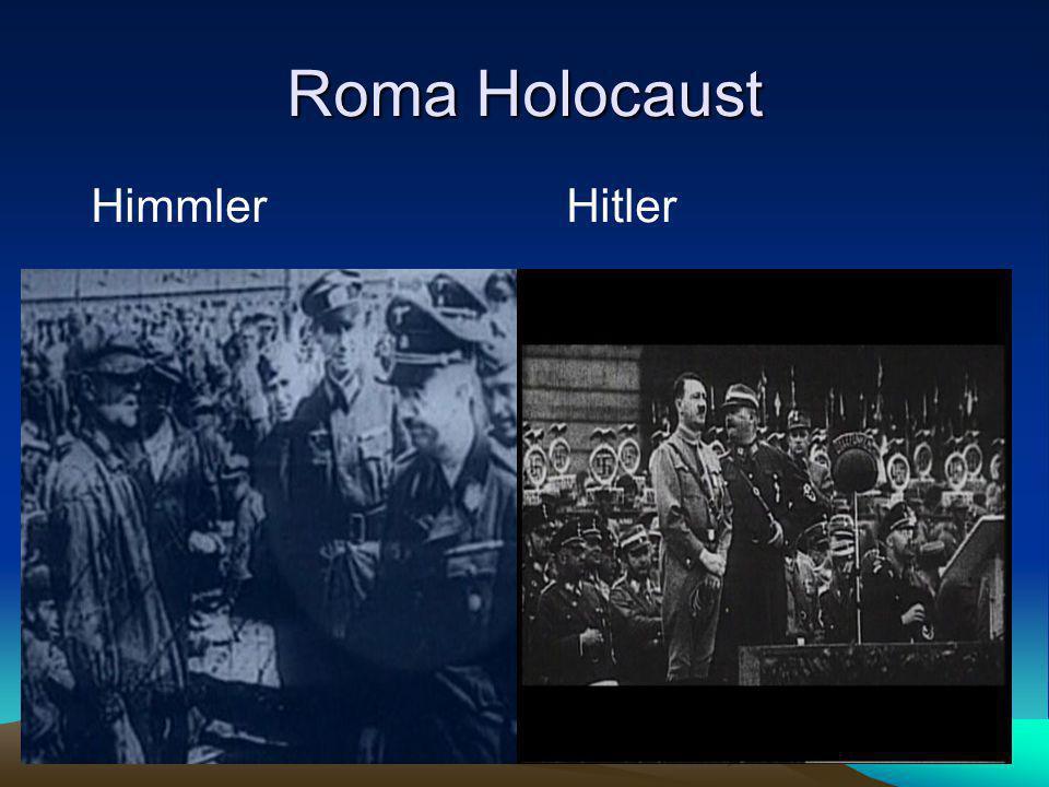 Roma Holocaust Himmler Hitler