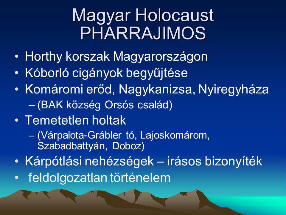 Magyar Holocaust PHARRAJIMOS