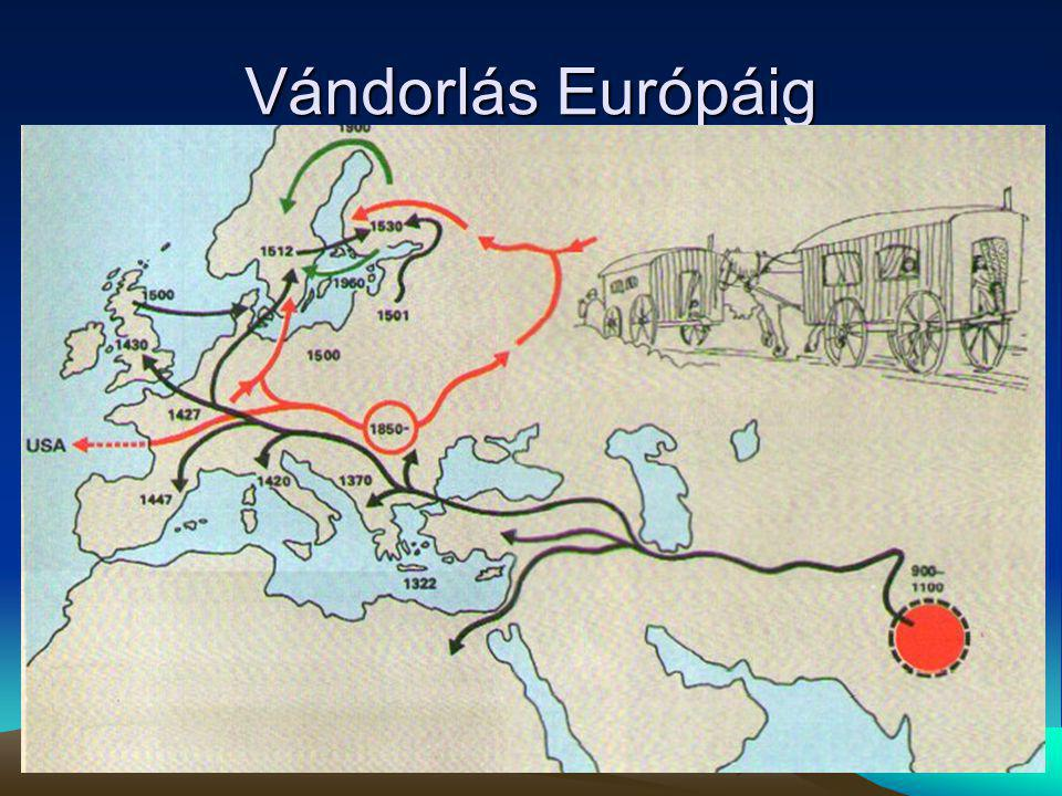 Vándorlás Európáig
