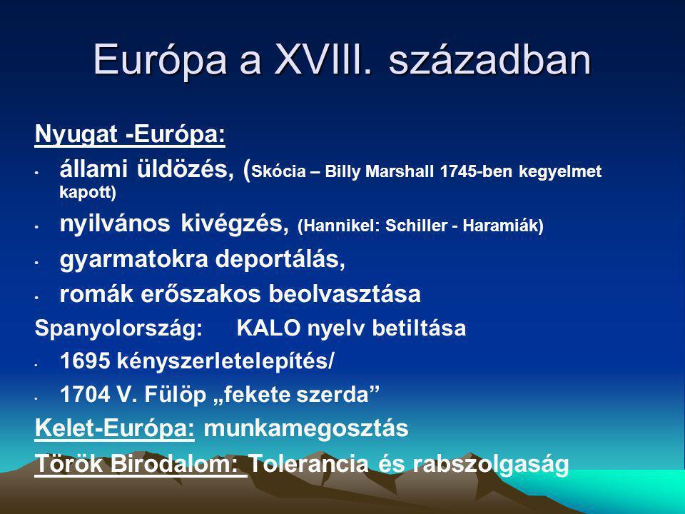 Európa a XVIII. században