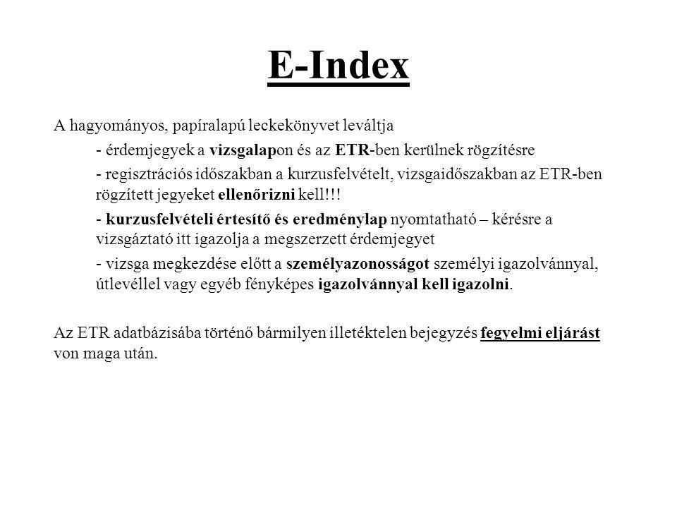 E-Index