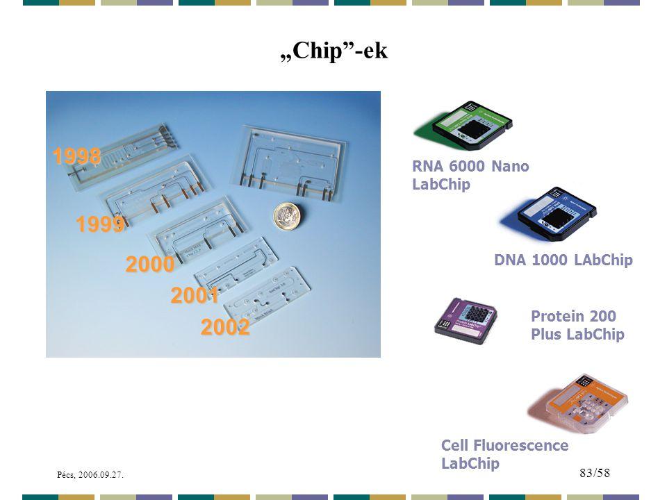 """Chip -ek 1998 1999 2000 2001 2002 RNA 6000 Nano LabChip"
