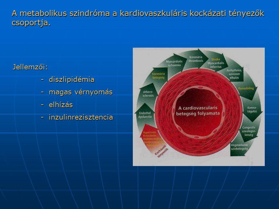 A metabolikus szindróma a kardiovaszkuláris kockázati tényezők