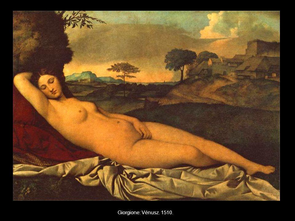 Giorgione: Vénusz. 1510.