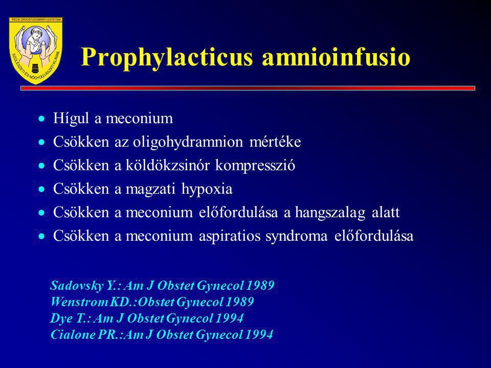 Prophylacticus amnioinfusio