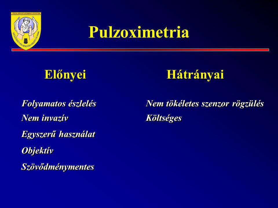 Pulzoximetria Előnyei Hátrányai