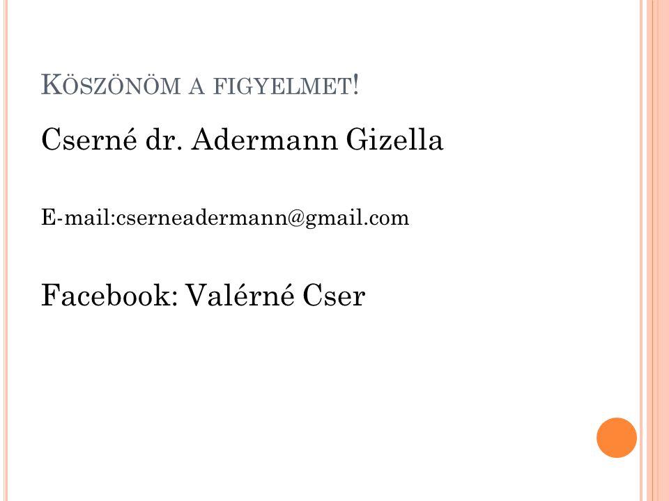 Cserné dr. Adermann Gizella