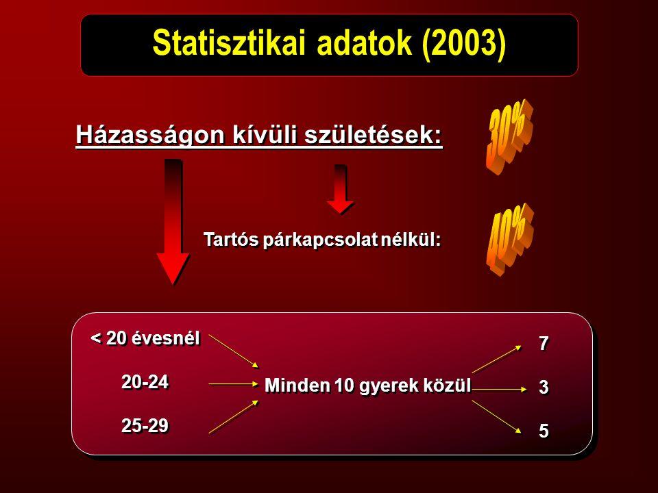 Statisztikai adatok (2003)