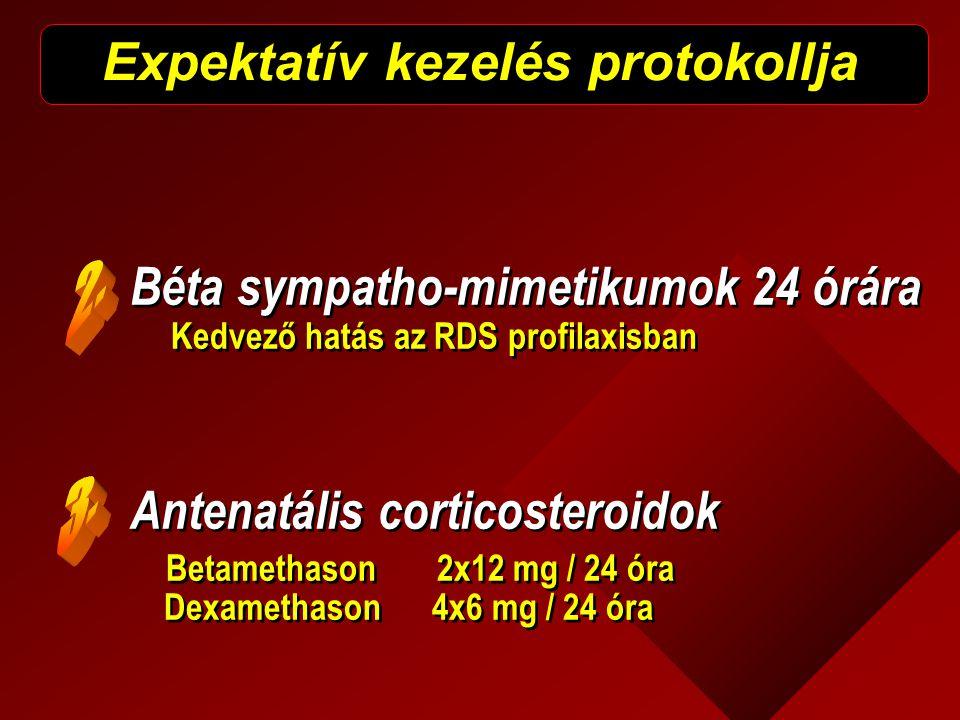 Expektatív kezelés protokollja