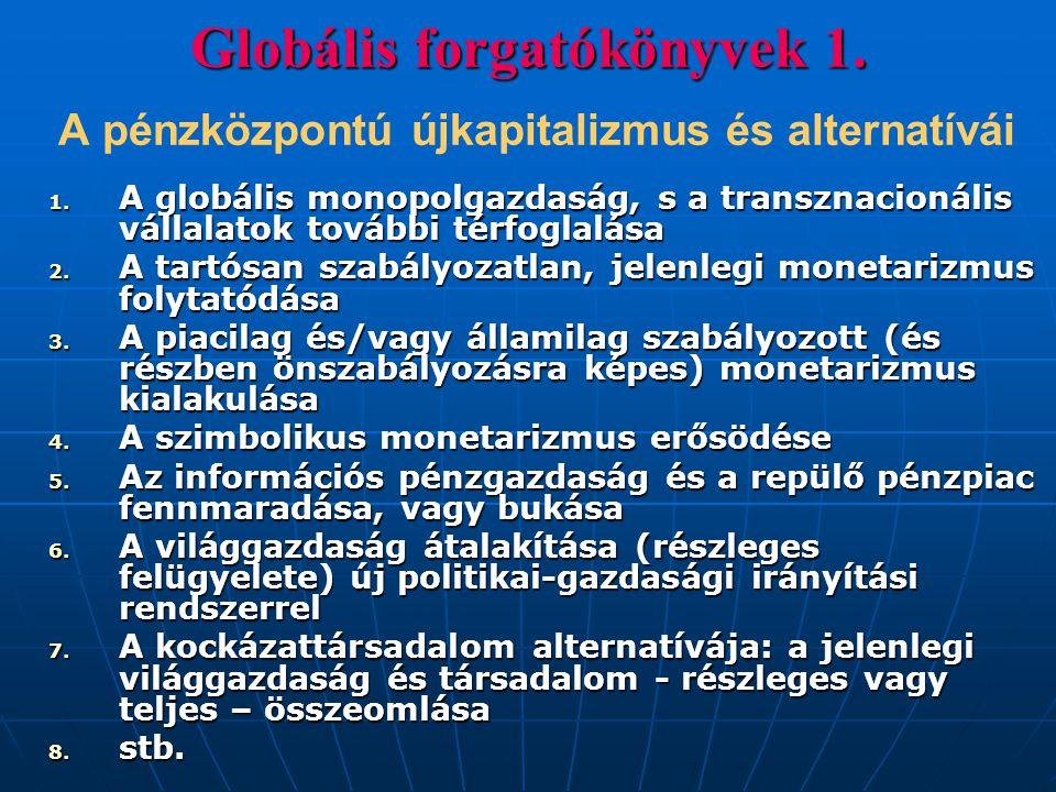 Globális forgatókönyvek 1
