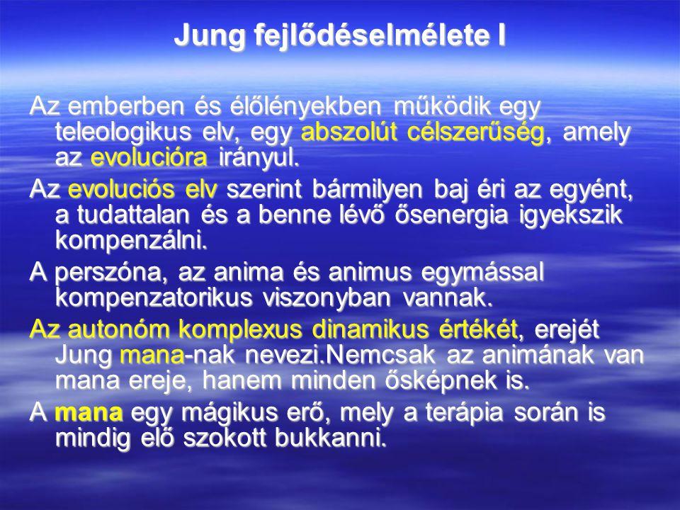 Jung fejlődéselmélete I