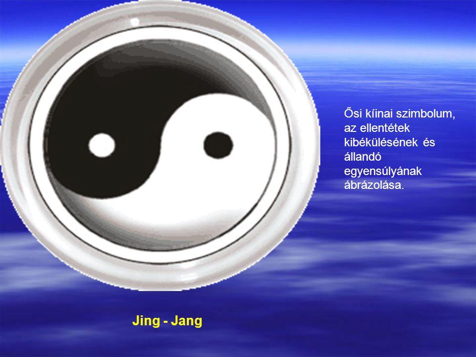 Ősi kíinai szimbolum, az ellentétek kibékülésének és állandó egyensúlyának ábrázolása.
