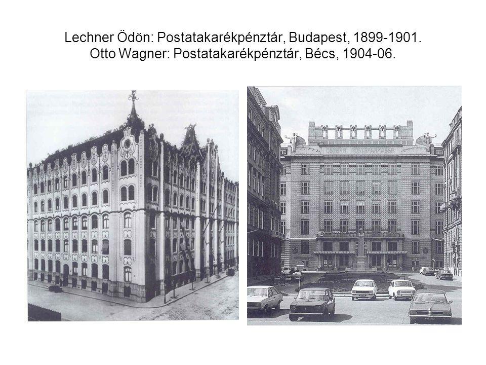 Lechner Ödön: Postatakarékpénztár, Budapest, 1899-1901