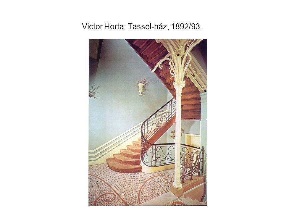 Victor Horta: Tassel-ház, 1892/93.