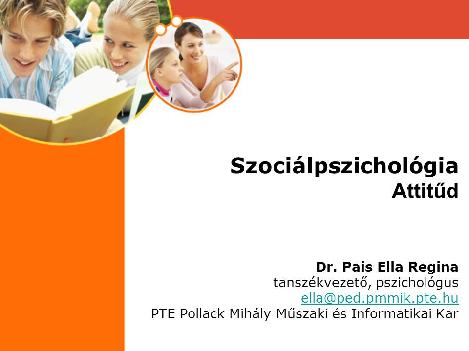 Szociálpszichológia Attitűd Dr