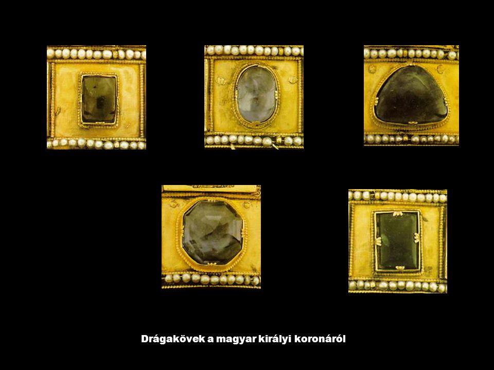 Drágakövek a magyar királyi koronáról