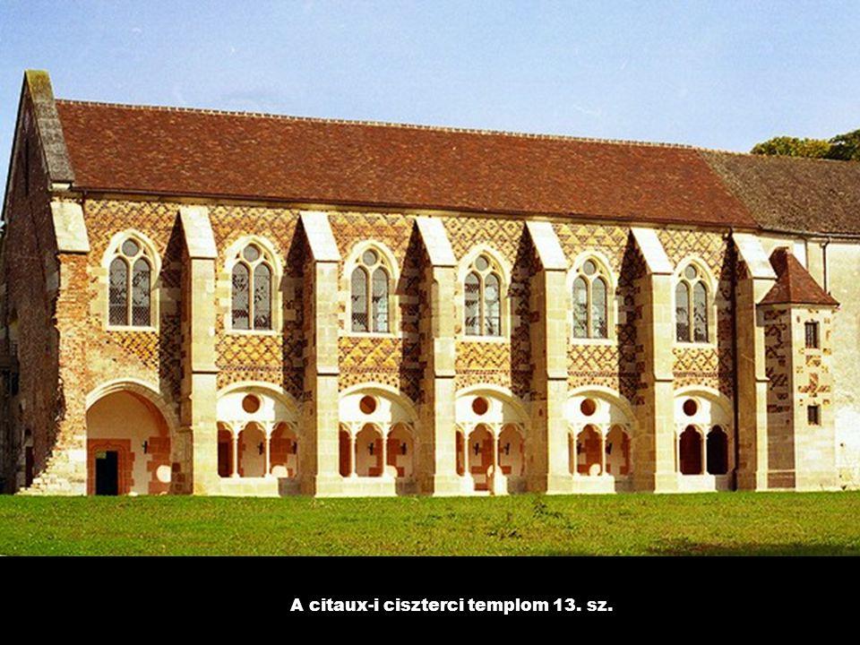A citaux-i ciszterci templom 13. sz.